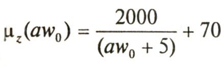 Аппроксимирующее уравнение для определения действующей магнитной проницаемости для горячекатанной стали